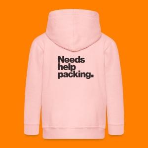 Needs help packing tee shirt - Kids' Premium Zip Hoodie