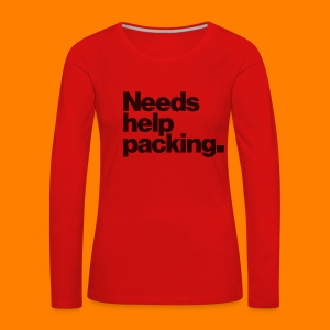 Needs help packing tee shirt - Women's Premium Longsleeve Shirt