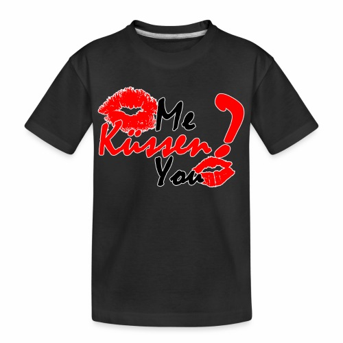 Küss mich - Teenager Premium Bio T-Shirt