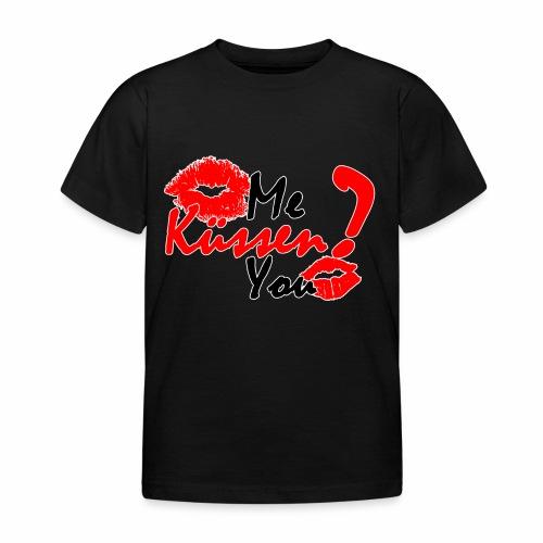 Küss mich - Kinder T-Shirt