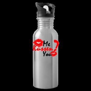 Küss mich - Trinkflasche