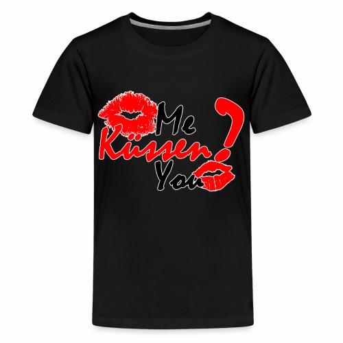 Küss mich - Teenager Premium T-Shirt