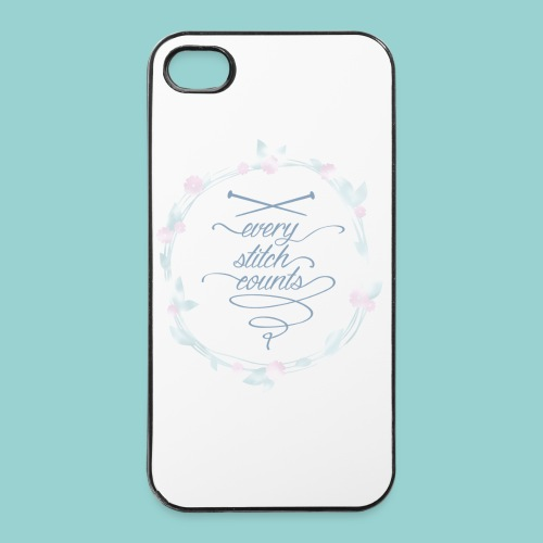 Every stitch counts - iPhone 4/4s Hard Case