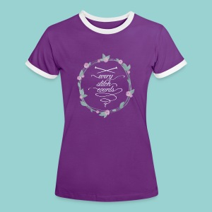 Every stitch counts - Frauen Kontrast-T-Shirt