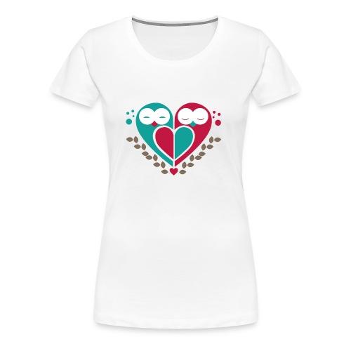 Eulen - Frauen Premium T-Shirt