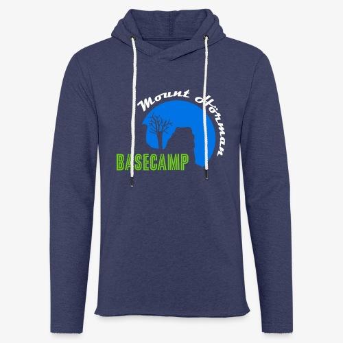 Mount Hörman Basecamp - Leichtes Kapuzensweatshirt Unisex