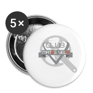 Tasse club MV pedalier bicolore - Badge petit 25 mm