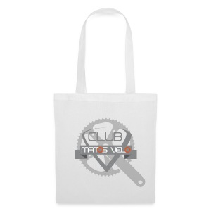 Tasse club MV pedalier bicolore - Tote Bag