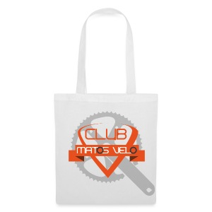 T-shirt femme club MV blanc pedalier - Tote Bag