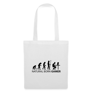 Natural Born Gamer - Light - Tote Bag