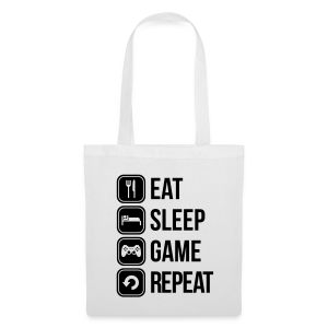 Eat Sleep Game Repeat 2 - Tote Bag