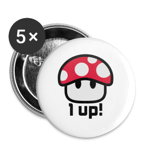 1-up - Buttons small 25 mm