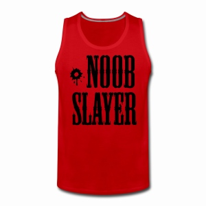 Noob Slayer - Men's Premium Tank Top