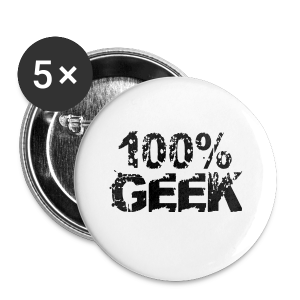 Pure Geek - Buttons small 25 mm