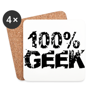 Pure Geek - Coasters (set of 4)