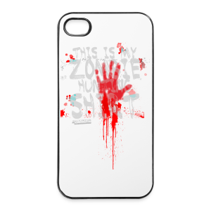 Zombie Shirt - iPhone 4/4s Hard Case