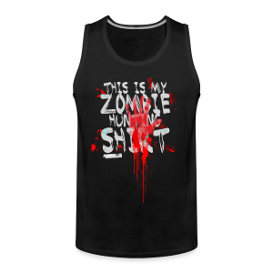 Zombie Shirt - Men's Premium Tank Top