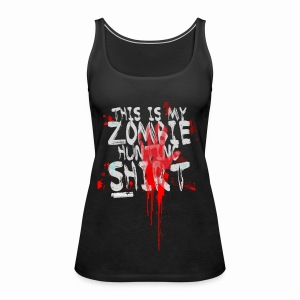 Zombie Shirt - Women's Premium Tank Top