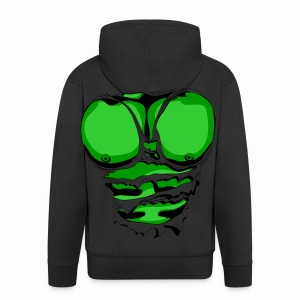 Hulk - Men's Premium Hooded Jacket