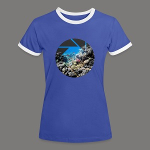 Blende - Frauen Kontrast-T-Shirt