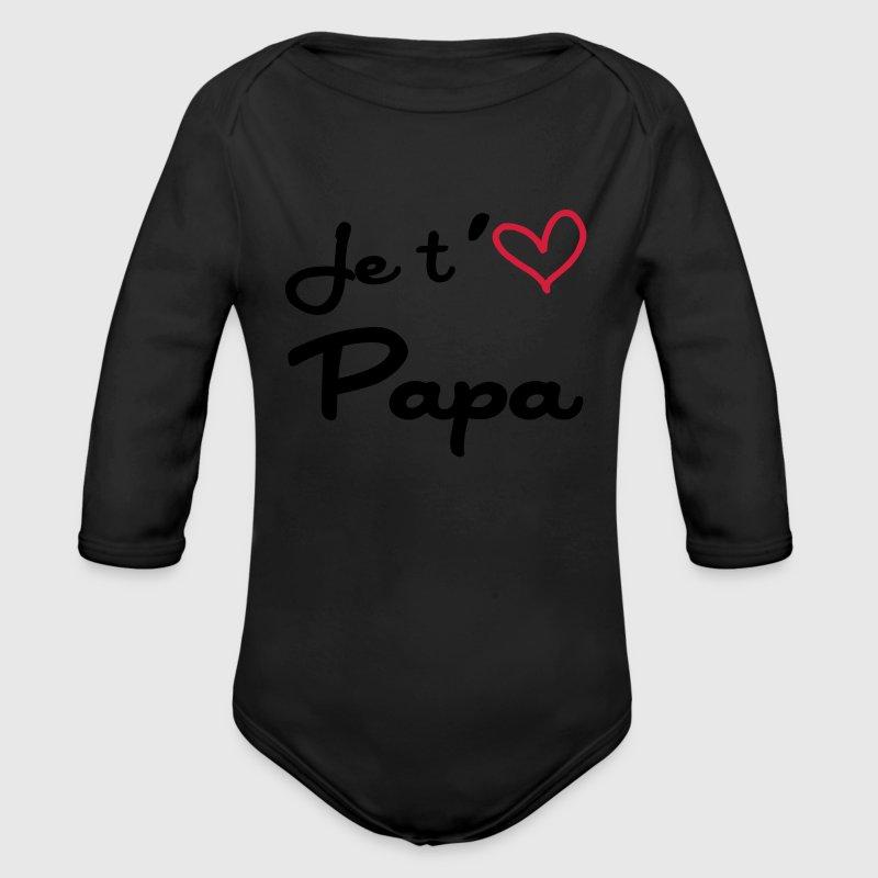 body b b je t 39 aime papa naissance b b f te des p res spreadshirt. Black Bedroom Furniture Sets. Home Design Ideas