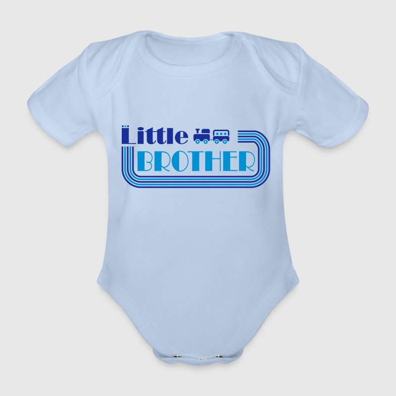 little brother T-Shirts - Baby Bio-Kurzarm-Body