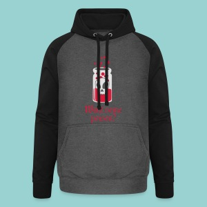 Want some poison? - Unisex Baseball Hoodie