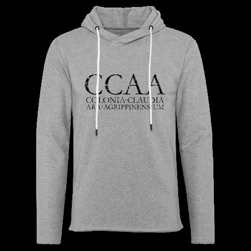 CCAA Colonia Claudia Ara Agrippinensium (Vintage Schwarz) Köln - Leichtes Kapuzensweatshirt Unisex