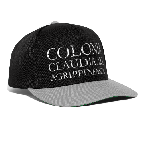 COLONIA CLAUDIA ARA AGRIPPINENSIUM (Vintage Weiß) - Snapback Cap