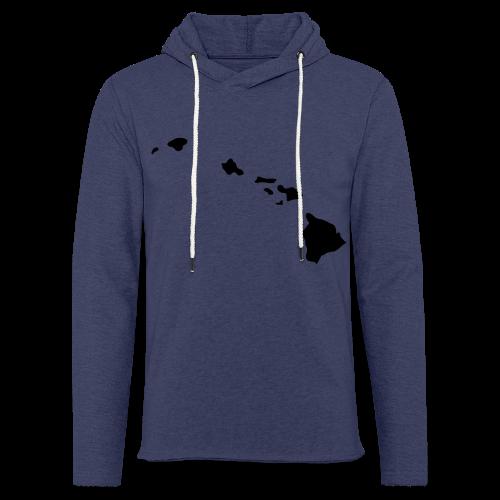 Hawaii Aloha Shirt - Leichtes Kapuzensweatshirt Unisex