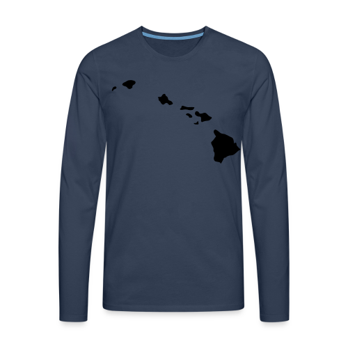 Hawaii Aloha Shirt - Männer Premium Langarmshirt