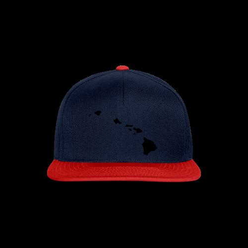Hawaii Aloha Shirt - Snapback Cap
