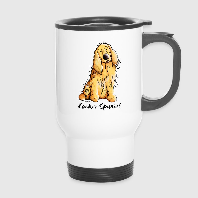 Funny Cocker Spaniel Mugs & Drinkware - Travel Mug