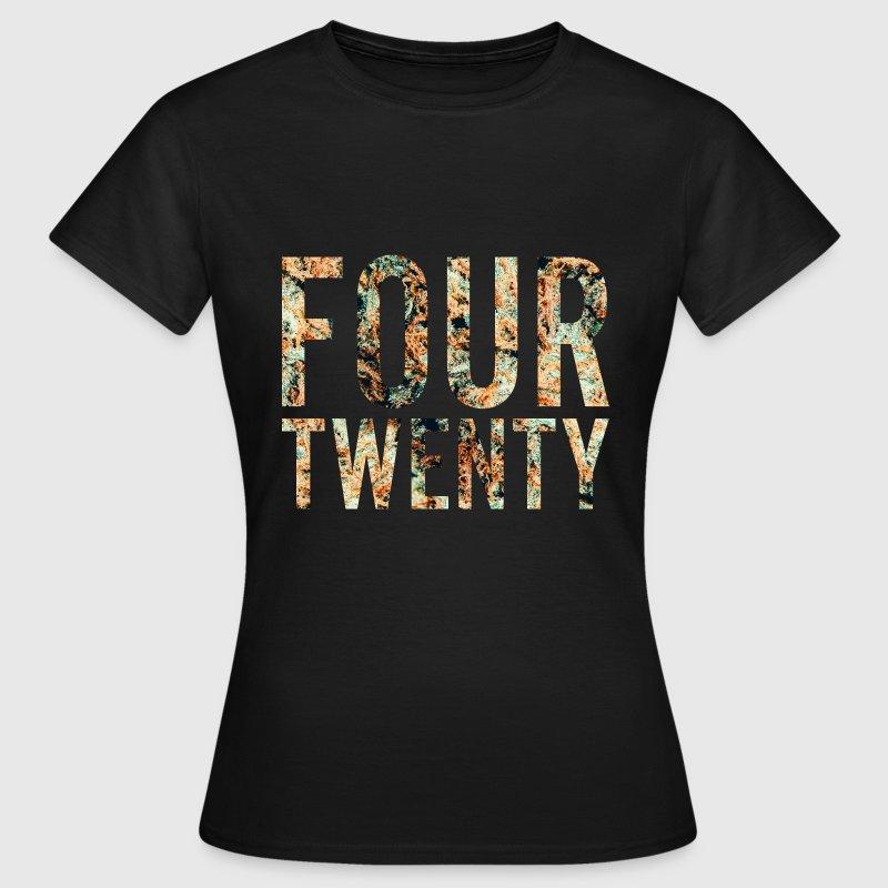 Fourtwenty T-Shirts - Frauen T-Shirt