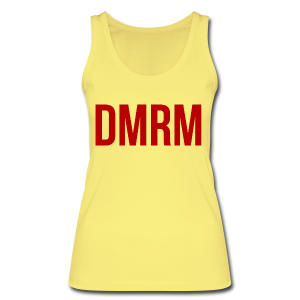 DMRM Large & Text on Back - Women's Organic Tank Top by Stanley & Stella