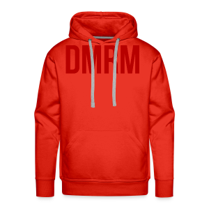 DMRM Large & Text on Back - Men's Premium Hoodie