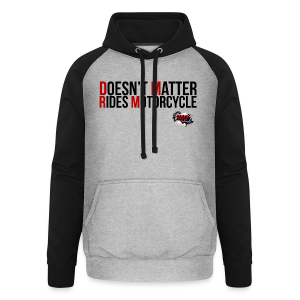 DMRM Coloured First Letters - Unisex Baseball Hoodie