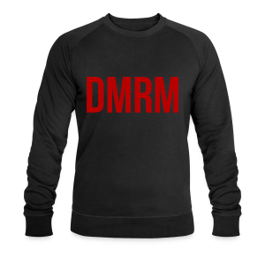 DMRM Full White on Back - Men's Organic Sweatshirt by Stanley & Stella