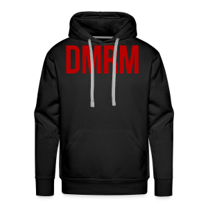DMRM Full White on Back - Men's Premium Hoodie