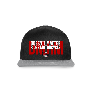 DMRM Full White on Back - Snapback Cap