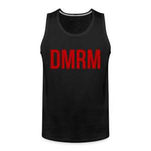 DMRM Full White on Back - Men's Premium Tank Top