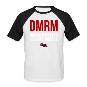 DMRM Full White - Men's Baseball T-Shirt
