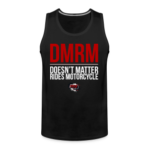 DMRM Full White - Men's Premium Tank Top