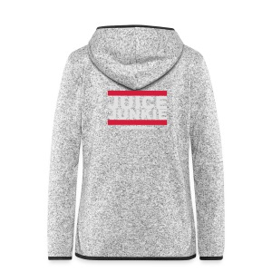 Old School Junkie Tee (Ladies) - Women's Hooded Fleece Jacket