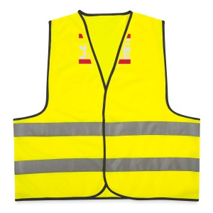 Old School Junkie Tee (Ladies) - Reflective Vest