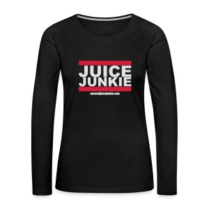 Old School Junkie Tee (Ladies) - Women's Premium Longsleeve Shirt