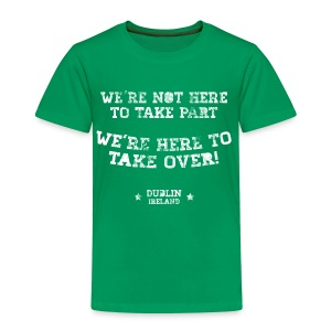 Conor McGregor: We're Not Here To Take Part - Kids' Premium T-Shirt