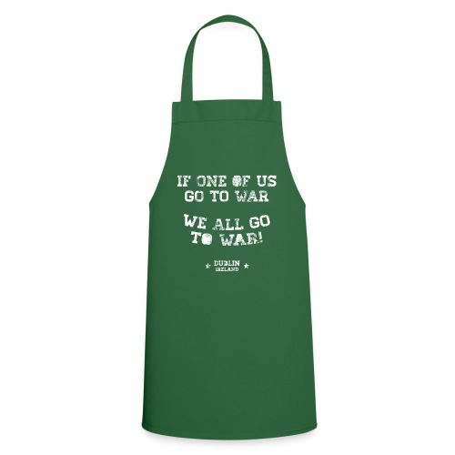 Conor McGregor: If One Of Us Goes To War - Cooking Apron