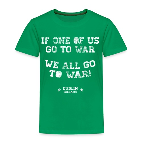 Conor McGregor: If One Of Us Goes To War - Kids' Premium T-Shirt