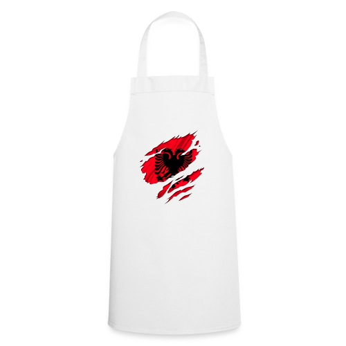 Aufgekratzt - Albanien Cap - Kochschürze